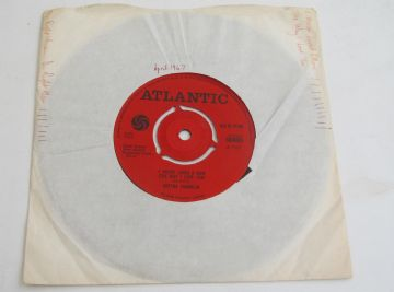 "Aretha Franklin I NEVER LOVED A MAN (THE WAY I LOVED YOU) 1967 UK 7"" SOUL NEAR MINT AUDIO"
